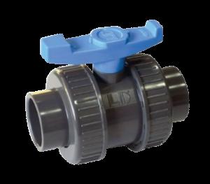 Válvula de Bola con Doble Unión Bridada LD-868