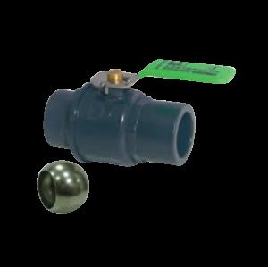 Válvula de Bola de Acero con Manija de Acero