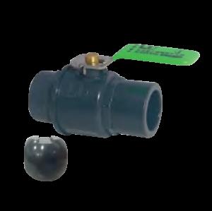 Válvula de Bola Plástica con Manija de Acero LD-898PB
